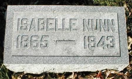 NUNN, ISABELLE - Greene County, Iowa   ISABELLE NUNN