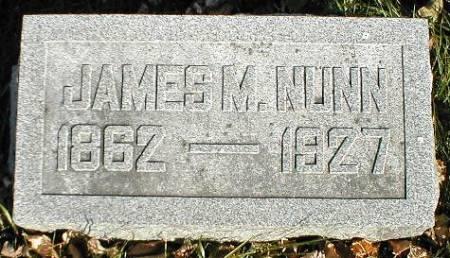 NUNN, JAMES M. - Greene County, Iowa   JAMES M. NUNN