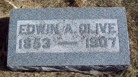 OLIVE, EDWIN ALFRED - Greene County, Iowa   EDWIN ALFRED OLIVE