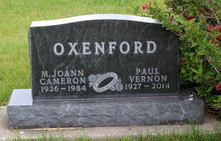 CAMERON OXENFORD, M. JOANN - Greene County, Iowa | M. JOANN CAMERON OXENFORD