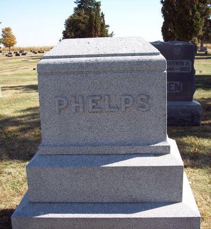 PHELPS, FAMILY MONUMENT - Greene County, Iowa   FAMILY MONUMENT PHELPS