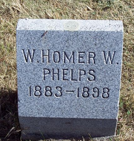 PHELPS, HOMER W - Greene County, Iowa   HOMER W PHELPS