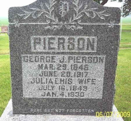 PIERSON, JULIA E - Greene County, Iowa | JULIA E PIERSON