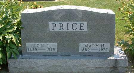 SHEERER PRICE, MARY (HATTIE) - Greene County, Iowa   MARY (HATTIE) SHEERER PRICE