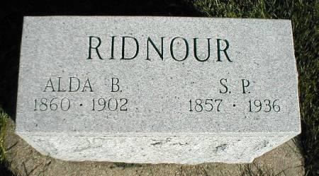 RIDNOUR, S. P. - Greene County, Iowa | S. P. RIDNOUR
