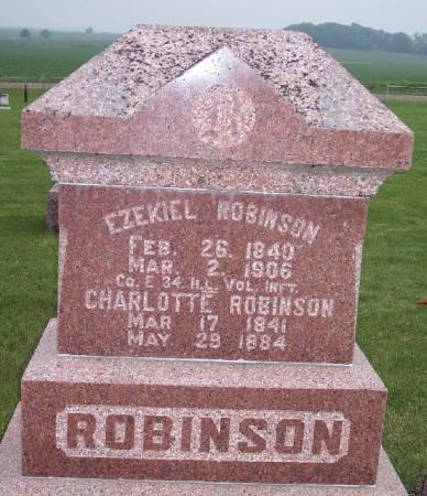 WIGHT ROBINSON, CHARLOTTE - Greene County, Iowa | CHARLOTTE WIGHT ROBINSON
