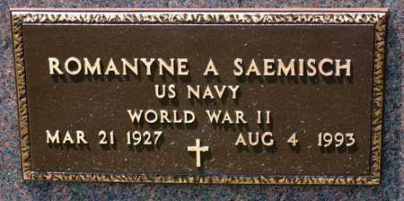 SAEMISCH, ROMANYNE A. - Greene County, Iowa | ROMANYNE A. SAEMISCH