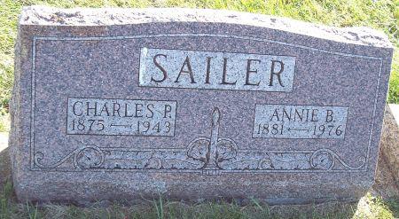 BECKER SAILER, ANNIE B - Greene County, Iowa | ANNIE B BECKER SAILER