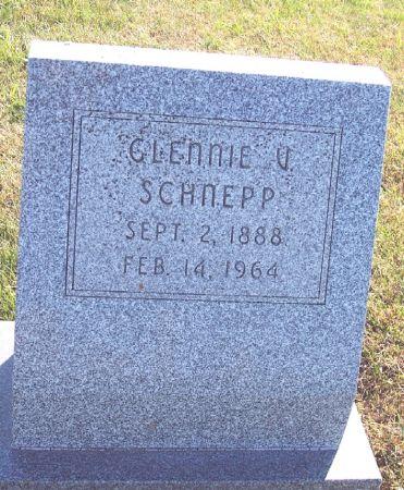 HARSHBARGER SCHNEPP, GLENNIE VIOLETTA - Greene County, Iowa | GLENNIE VIOLETTA HARSHBARGER SCHNEPP