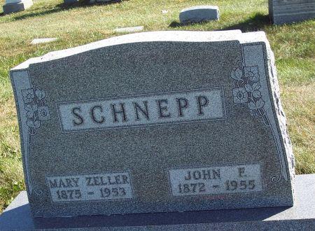 ZELLER SCHNEPP, MARY ADDIE - Greene County, Iowa | MARY ADDIE ZELLER SCHNEPP