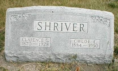 SHRIVER, CLARENCE GILBERT - Greene County, Iowa | CLARENCE GILBERT SHRIVER
