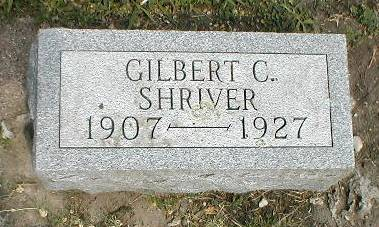 SHRIVER, GILBERT C. - Greene County, Iowa | GILBERT C. SHRIVER