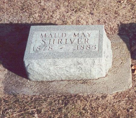 SHRIVER, MAUD MAY - Greene County, Iowa | MAUD MAY SHRIVER