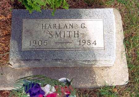 SMITH, HARLAN G. - Greene County, Iowa   HARLAN G. SMITH
