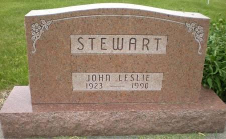 STEWART, JOHN LESLIE - Greene County, Iowa   JOHN LESLIE STEWART