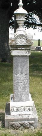 THOMPSON, JANE S. - Greene County, Iowa | JANE S. THOMPSON