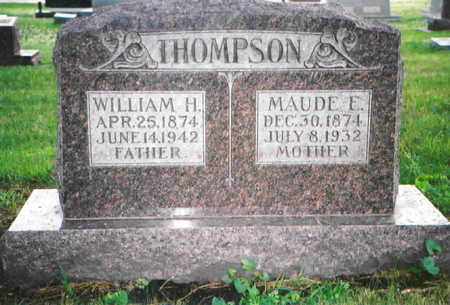THOMPSON, MAUDE E. - Greene County, Iowa | MAUDE E. THOMPSON