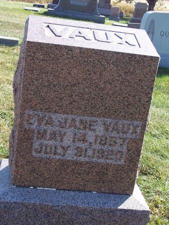 FOUNTAIN VAUX, EVA JANE - Greene County, Iowa | EVA JANE FOUNTAIN VAUX