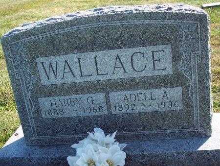 CARR WALLACE, ADELL AMELIA - Greene County, Iowa   ADELL AMELIA CARR WALLACE
