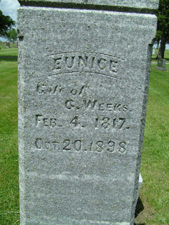 WEEKS, EUNICE - Greene County, Iowa | EUNICE WEEKS
