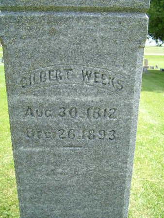 WEEKS, GILBERT - Greene County, Iowa | GILBERT WEEKS