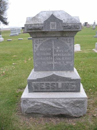 SOMERS WESSLING, LENA W - Greene County, Iowa | LENA W SOMERS WESSLING
