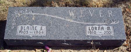 WEVER, BLAINE EDWARD - Greene County, Iowa | BLAINE EDWARD WEVER