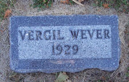 WEVER, VERGIL - Greene County, Iowa   VERGIL WEVER
