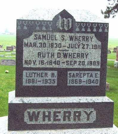 WHERRY, SAMUEL S - Greene County, Iowa | SAMUEL S WHERRY