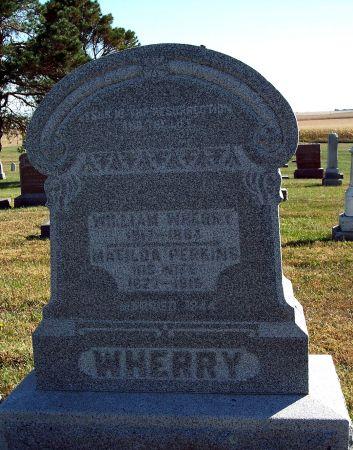 WHERRY, WILLIAM - Greene County, Iowa | WILLIAM WHERRY