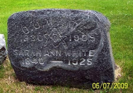 WHITE, SARAH ANN - Greene County, Iowa | SARAH ANN WHITE