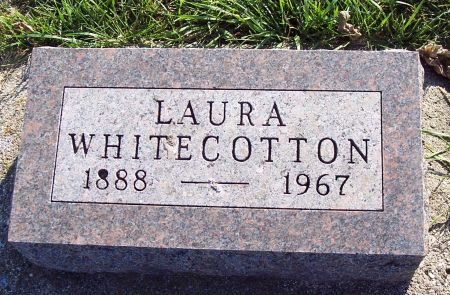 WHITECOTTON, LAURA B - Greene County, Iowa   LAURA B WHITECOTTON