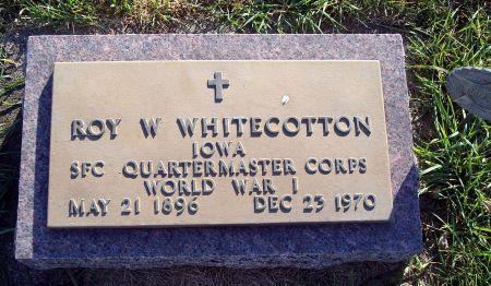 WHITECOTTON, ROY WILLIAM - Greene County, Iowa | ROY WILLIAM WHITECOTTON