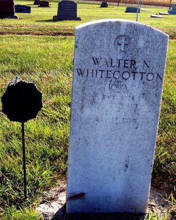 WHITECOTTON, WALTER N - Greene County, Iowa   WALTER N WHITECOTTON