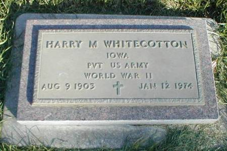 WHITECOTTON, HARRY M. - Greene County, Iowa | HARRY M. WHITECOTTON
