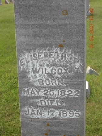 HOPPER WILCOX, ELISEBETH - Greene County, Iowa | ELISEBETH HOPPER WILCOX