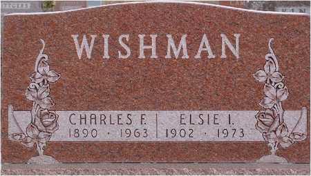WISHMAN, ELSIE - Greene County, Iowa | ELSIE WISHMAN