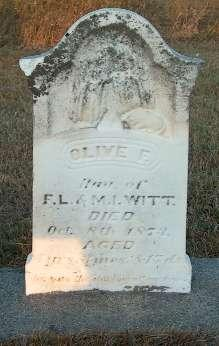 WITT, OLIVE E. - Greene County, Iowa | OLIVE E. WITT