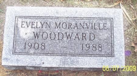 MORANVILLE WOODWARD, LETTIE EVELYN - Greene County, Iowa   LETTIE EVELYN MORANVILLE WOODWARD