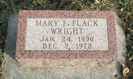WRIGHT, MARY ELIZABETH - Greene County, Iowa | MARY ELIZABETH WRIGHT