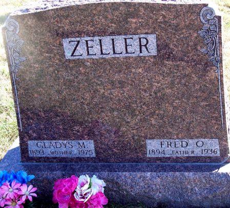 CRIPPEN ZELLER, GLADYS MALINDA - Greene County, Iowa | GLADYS MALINDA CRIPPEN ZELLER