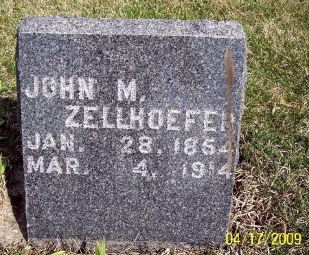 ZELLHOEFER, JOHN M - Greene County, Iowa | JOHN M ZELLHOEFER