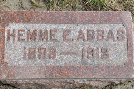 ABBAS, HEMME E. - Grundy County, Iowa | HEMME E. ABBAS