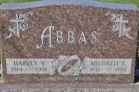 ABBAS, MILDRED S. - Grundy County, Iowa   MILDRED S. ABBAS