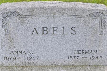 ABELS, HERMAN - Grundy County, Iowa | HERMAN ABELS