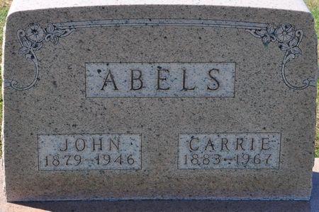 ABELS, JOHN - Grundy County, Iowa | JOHN ABELS