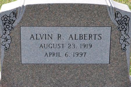 ALBERTS, ALVIN R. - Grundy County, Iowa | ALVIN R. ALBERTS