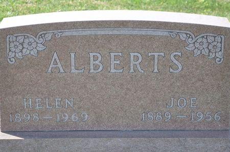 ALBERTS, JOE - Grundy County, Iowa | JOE ALBERTS
