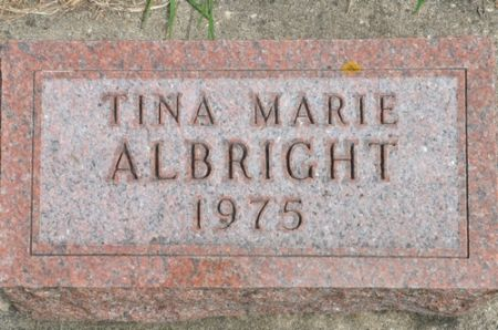 ALBRIGHT, TINA MARIE - Grundy County, Iowa | TINA MARIE ALBRIGHT