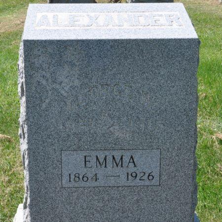 ALEXANDER, EMMA - Grundy County, Iowa | EMMA ALEXANDER